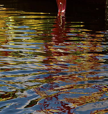 Art Print featuring the photograph Chihuly Reflections IIi by John Babis