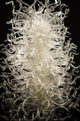 Photograph - Chihuly's Clear Glass by Lee Kirchhevel