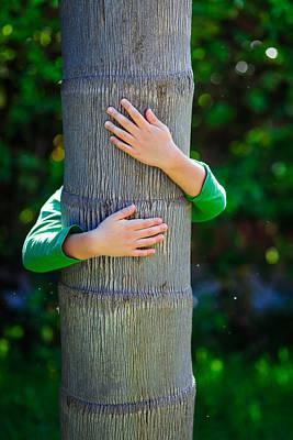 Child And Tree Art Print by Desislava Panteva
