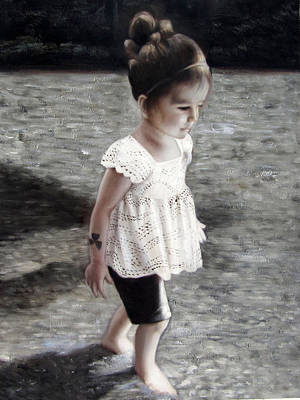 Child  Art Print by Anny Huang