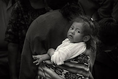 Child Of Chichicastenango Art Print by Tom Bell