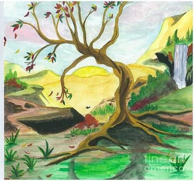 Child Of Earth Art Print by Jeanel Walker