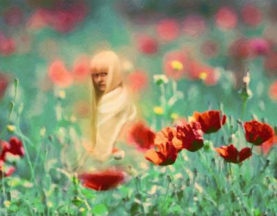 Inner Child Painting - Child Of Innocence by Georgiana Romanovna