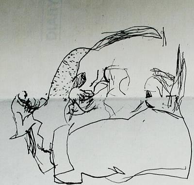 Child Sleeping Art Print by Godfrey McDonnell