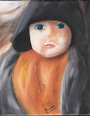 Child With Hood Art Print