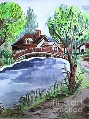 Painting - Childhood Dream by Jyoti Vats