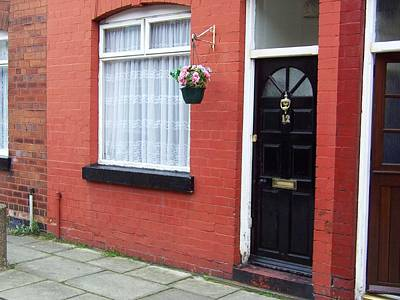 Sergeant Pepper Photograph - Childhood Home Of George Harrison Liverpool Uk by Steve Kearns