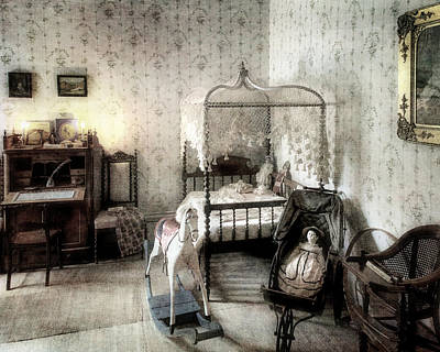 Bed Spread Photograph - Childhood Pleasures by William Beuther