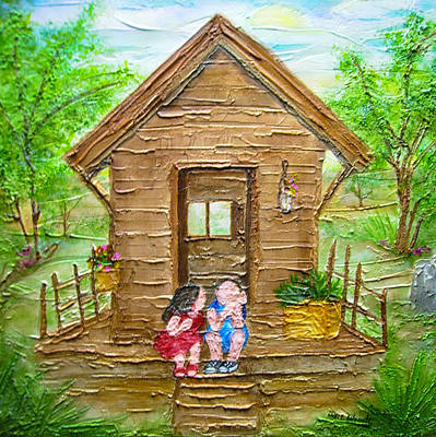 Childhood Retreat Art Print by Jan Wendt