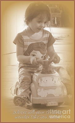 Photograph - Childlike Wonder by Bobbee Rickard