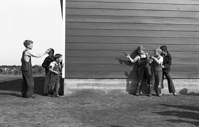 Photograph - Children, 1942 by Granger