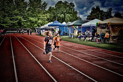 Photograph - Children And Relay For Life by Ron Roberts