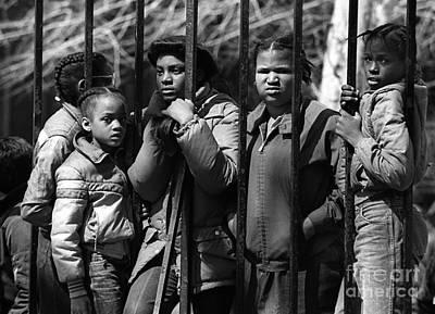 Photograph - Children In Washington Dc by Jim West