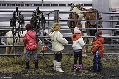 Photograph - Children Love Horses by Fran Gallogly