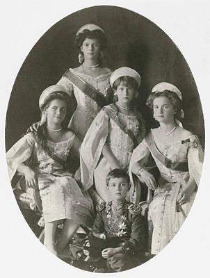 Tatiana Photograph - Children Of Nicholas II by Granger
