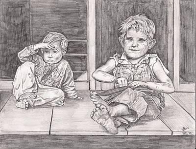 Children Of The Appalachians Art Print