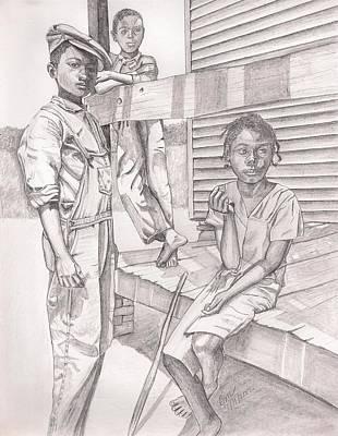 Children Of The Past Art Print