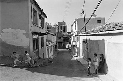 Children Playing On The Street In Izmir Turkey Print by Ilker Goksen