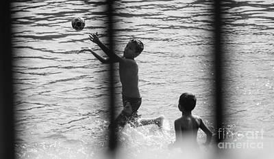 Photograph - Children by Venura Herath