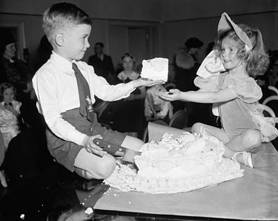 Photograph - Childrens Party, 1938 by Granger