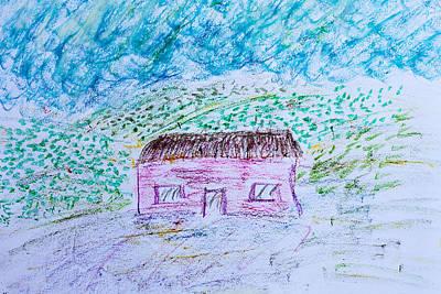 Child's Drawing Art Print