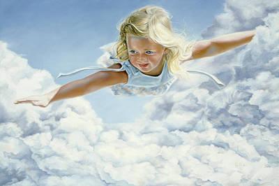 Child's Dream Original by Lucie Bilodeau