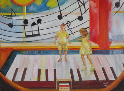 Painting - Childs Play by Charme Curtin