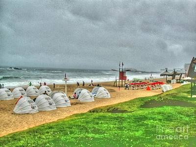 Chile Beach Day South America Art Print by Tap On Photo