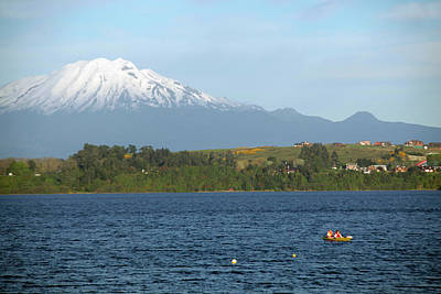Andes Wall Art - Photograph - Chile, Puerto Varas by Kymri Wilt