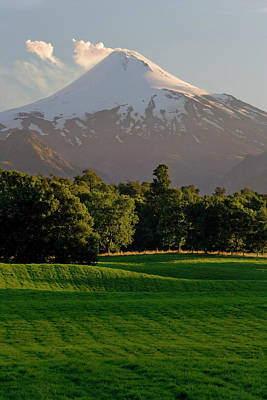 Country Side Photograph - Chile South America Pasture In Rio by Scott T. Smith