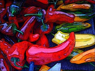Photograph - Chili Peppers by Colleen Renshaw