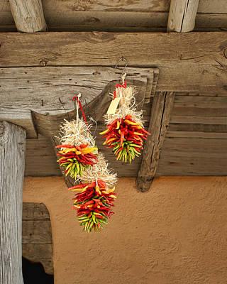 Ristra Photograph - Chile Warmth by Nikolyn McDonald