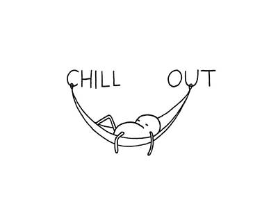 Chill Out Art Print by Smith and Ford