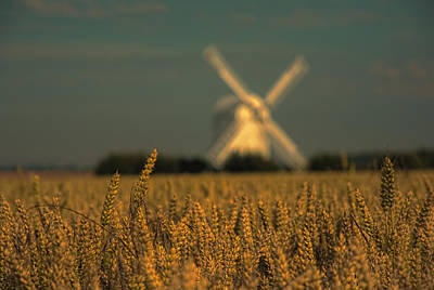 Chillenden Windmill Art Print