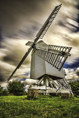 Chillenden Windmill Kent Art Print