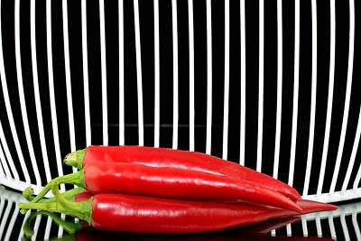 Chilli Pepper And Grid Original