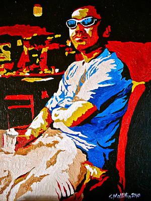 Painting - Chillin' by Carol Tsiatsios