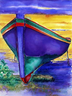 Amagansett Painting - Chillin by Lorraine LaVista