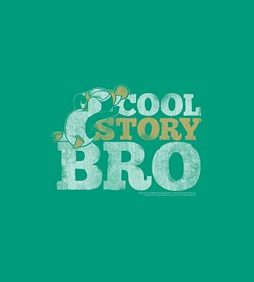 Woodpecker Digital Art - Chilly Willy - Cool Story by Brand A