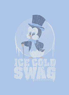Woodpecker Digital Art - Chilly Willy - Ice Cold by Brand A