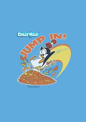 Woodpecker Digital Art - Chilly Willy - Jump In by Brand A