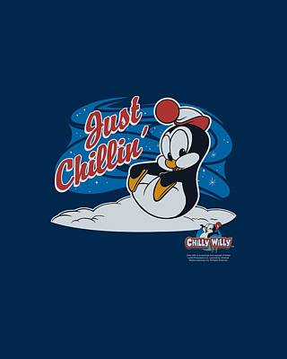Woodpecker Digital Art - Chilly Willy - Just Chillin by Brand A