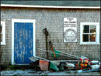 Chilmark Dock Shack Art Print