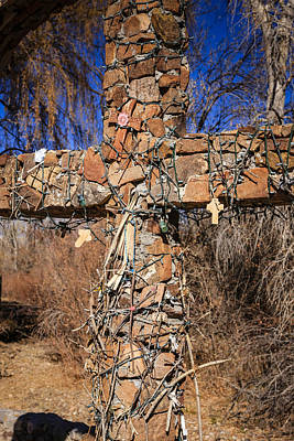 Chimayo Nm Photograph - Chimayo Crucifix by Chris Smith