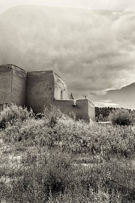Chimayo Nm Photograph - Chimayo by Luis Saenz