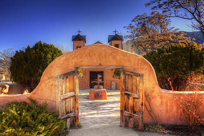 Chimayo Mission Art Print by Wendell Thompson