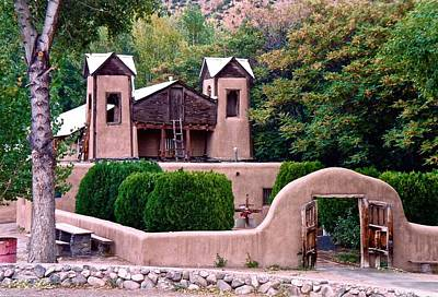 Photograph - Chimayo Sanctuary by Ricardo J Ruiz de Porras