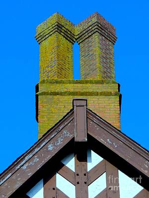 Chimney Abstract Art Print by Ed Weidman