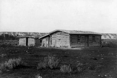 Photograph - Chimney-butte Ranch by Granger