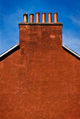 Photograph - Chimney Pots by Bud Simpson